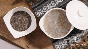 Tổ yến chưng với hạt Chia - món ăn giàu dinh dưỡng