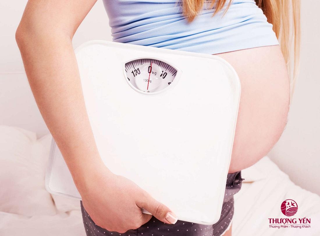 Khi mang thai, tăng cân hợp lý là yếu tố quan trọng hàng đầu