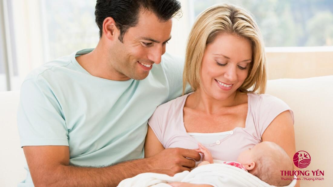 Yến sào chính là thực phẩm tốt cho mẹ sau sinh