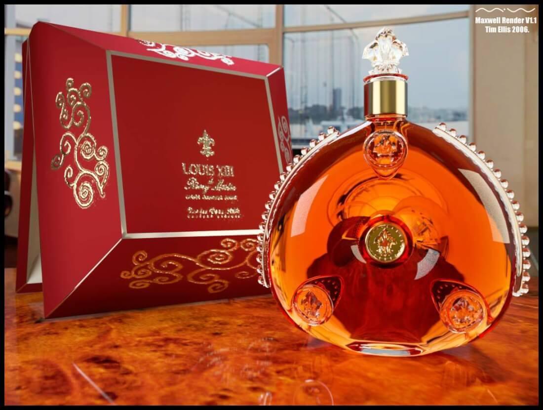 Chọn rượu Remy Martin Louis XIII làm quà tặng đối tác