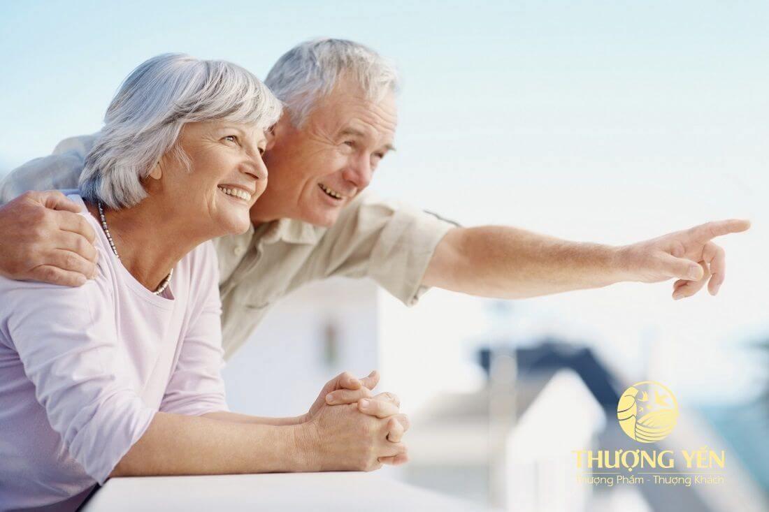 Cách dùng yến sào cho người già - người cao tuổi