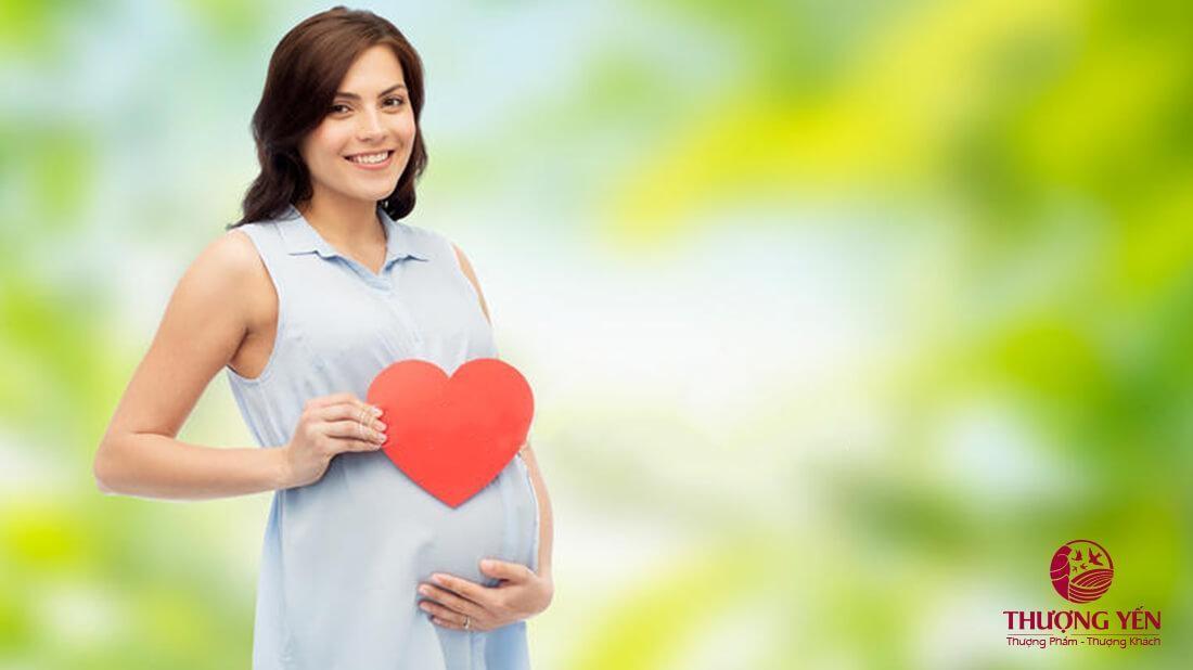 Sử dụng yến sào cho phụ nữ đang mang thai