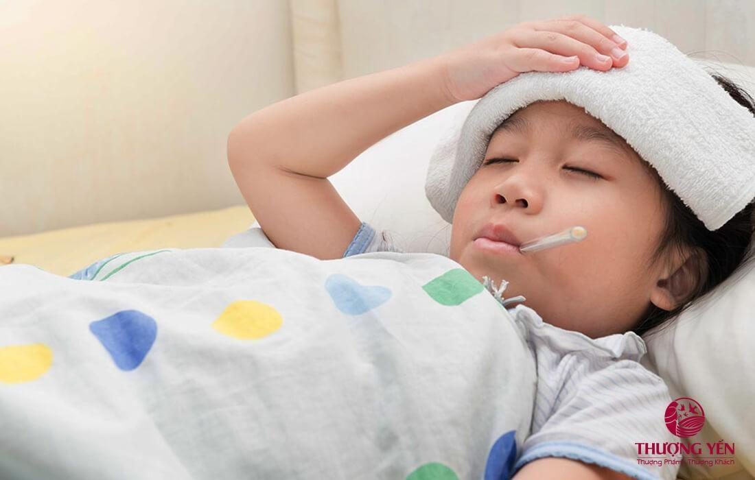 Người đang mắc bệnh cảm hay sốt không nên ăn yến sào