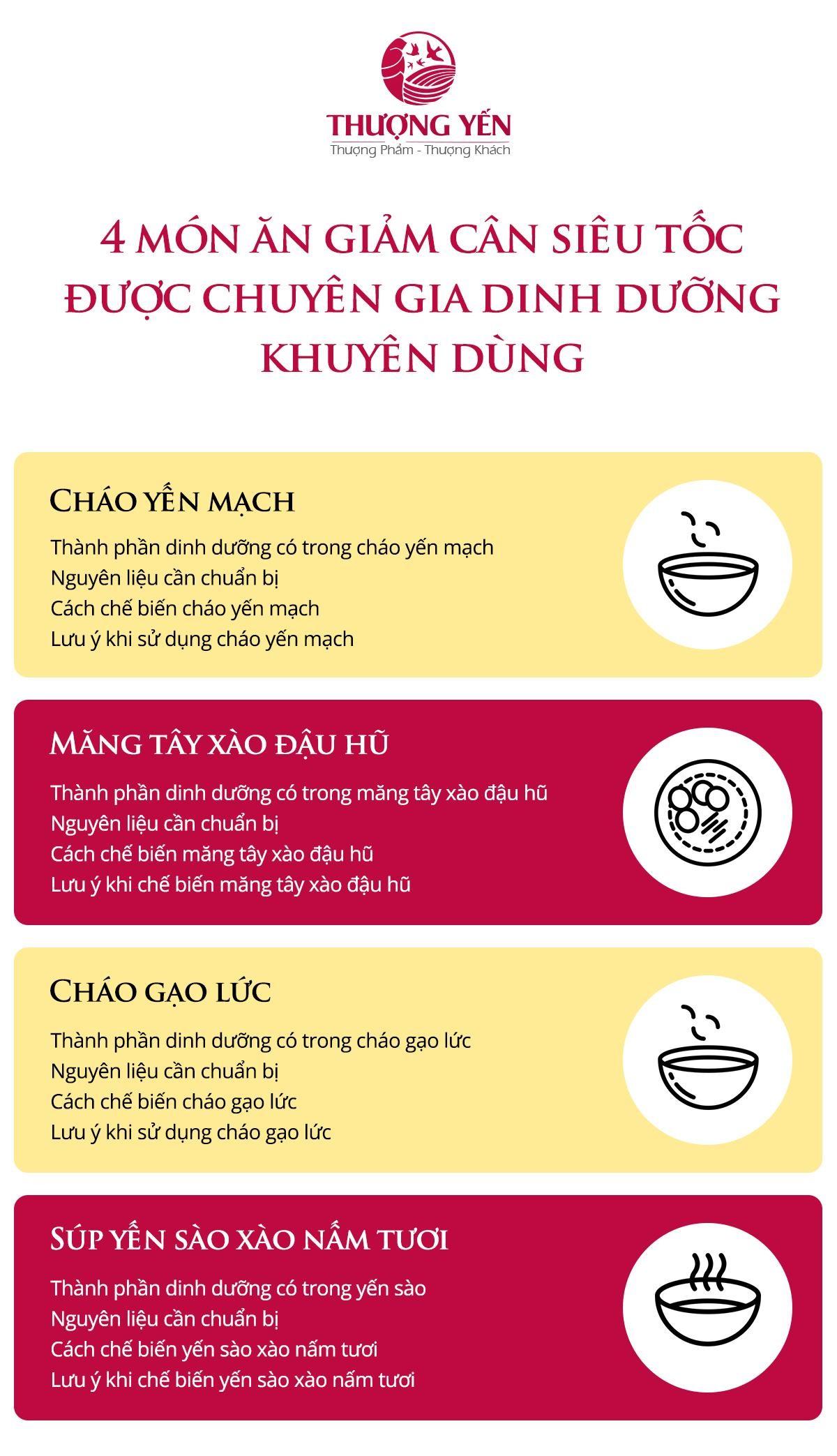 4 món ăn giảm cân được chuyên gia khuyên dùng