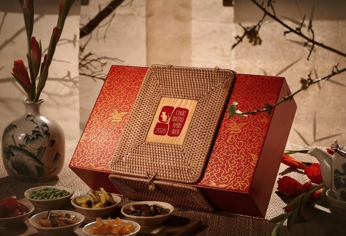 Hộp quà tết tại Thượng Yến