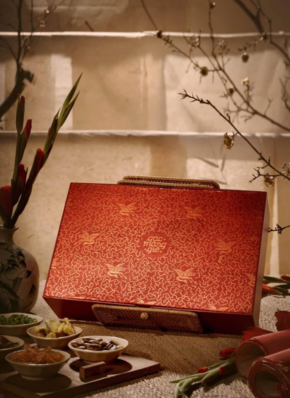 Hộp quà bánh mứt tại Thượng Yến
