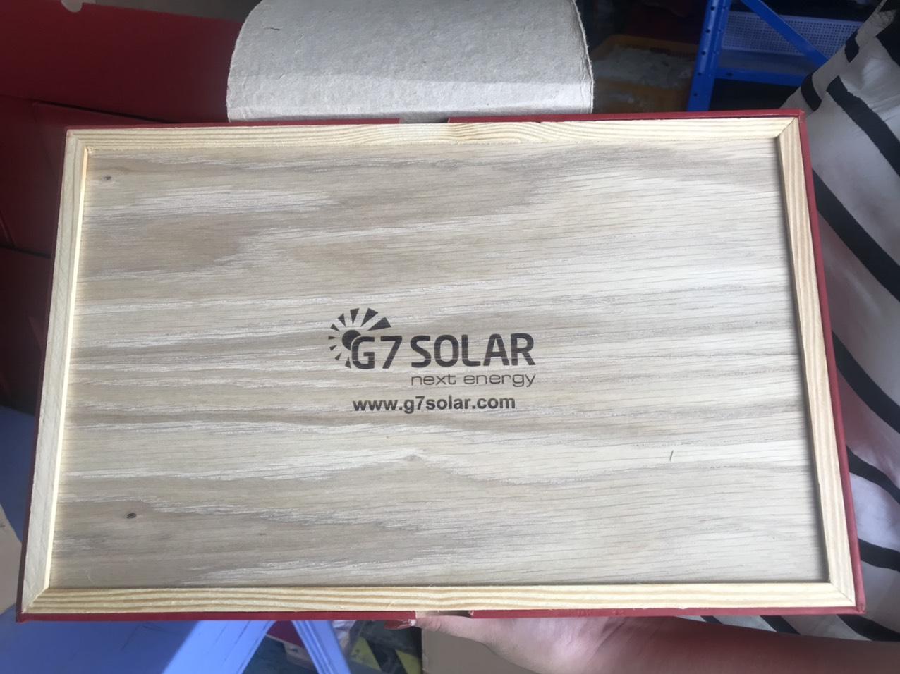 Hộp Quà Dó Gỗ - Công ty G7solar